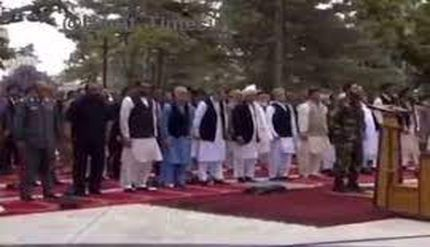 فیلم/ حمله راکتی به ارگ ریاست جمهوری افغانستان