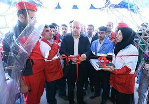 افتتاح کمپ های سلامت نوروزی جمعیت هلال احمر در گلستان