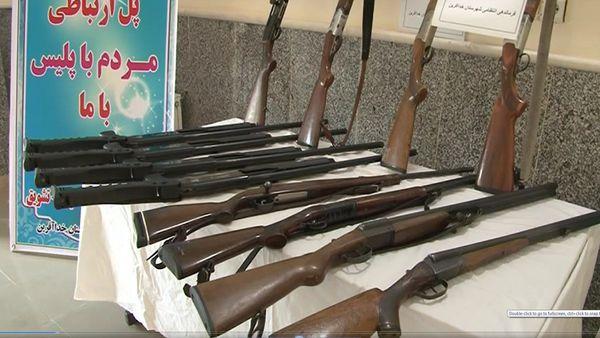 کشف ۲۶ قبضه اسلحه غیرمجاز در گلستان
