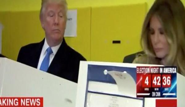 عکسی که از شک ترامپ به همسرش پرده برداشت!