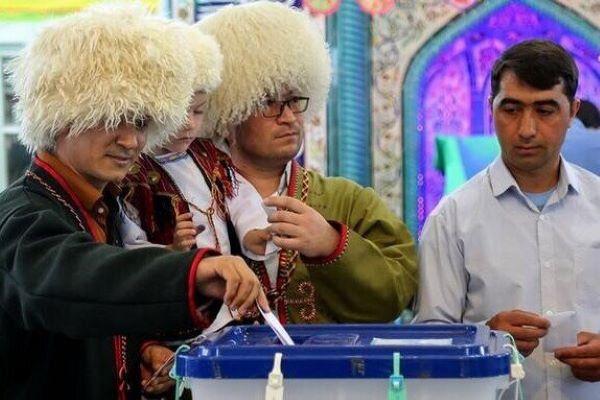 مرزنشینان ترکمن صحرا در انتخابات حضور پررنگ خواهند داشت