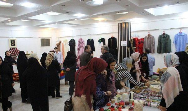 برگزاری نمایشگاه دستاوردهای مهارت در کردکوی