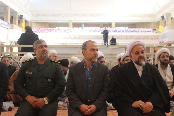گزارش تصویری/ مراسم گرامیداشت یومالله 9 دی در گرگان