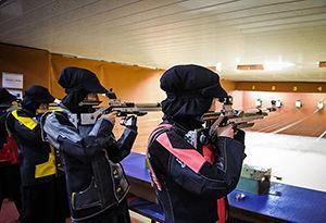 برگزاری مسابقات تیراندازی بزرگسالان در گلستان
