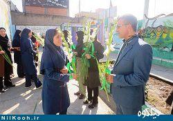دانشآموزان گالیکش به مناسبت روز دانشآموز تجلیل شدند / گزارش تصویری