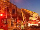 فیلم / آتش سوزی در همسایگی پلاسکو