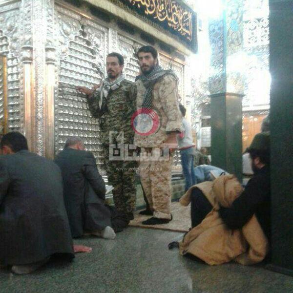 عکس / شهید ابوعلی و صدرزاده محرم پارسال