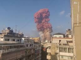 فیلم/ دقایقی قبل از انفجار اول در بندر بیروت