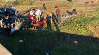 ۴ کشته و مصدوم در سانحه رانندگی در گلستان