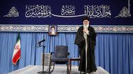 فیلم/ زمزمه سرود جمهوری اسلامی توسط رهبر انقلاب