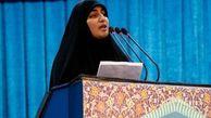 دختر شهید سلیمانی: مجاهدان لبنانی جرأت ما را بیشتر کردند