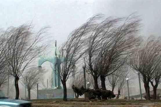 هشدار زرد نسبت به وزش باد شدید در کشور/ بارندگی امروز و فردا در برخی مناطق