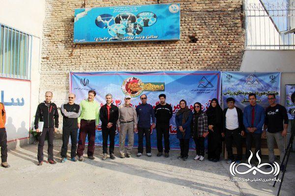 آزمون مربگیری درجه 3 کوهنوردی در استان گلستان + تصاویر