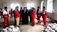 بازدید نماینده مردم گلستان در مجلس خبرگان رهبری از روند امدادرسانی به مردم سیلزده+تصاویر