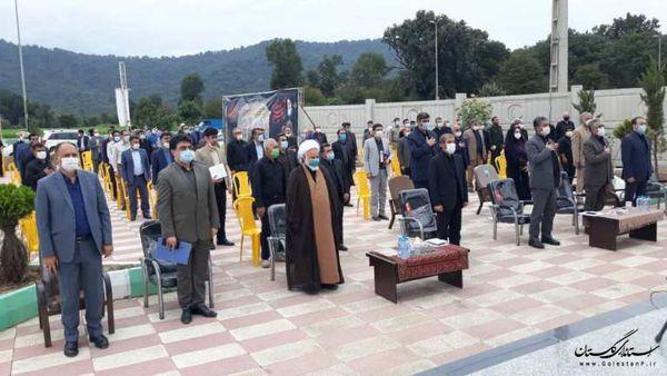 افتتاح و کلنگ زنی 8 پروژه تامین آب آشامیدنی در هفته دولت در گرگان