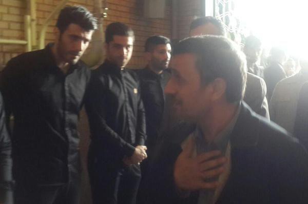 مکالمه لورفته میان احمدینژاد و پروین
