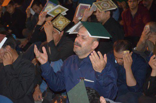 دومین شب قدر در امامزاده عبدالله گرگان
