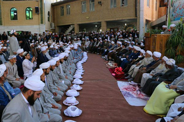 بیست و دومین دوره مراسم معنوی فارغ التحصیلی طلاب علوم دینی