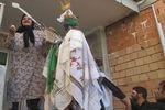 آیین علم گردانی در روستای میاندره استان گلستان + تصاویر