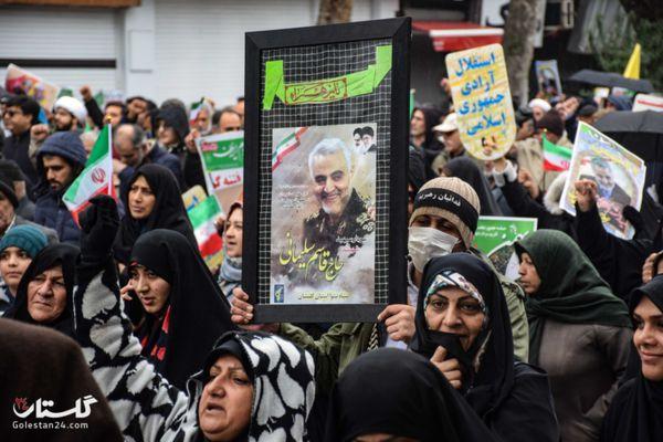 فجر سلیمانی در گلستان+کلیپ