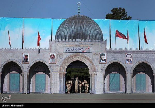 حضور رهبر انقلاب در دانشگاه افسری سپاه پاسداران + تصاویر