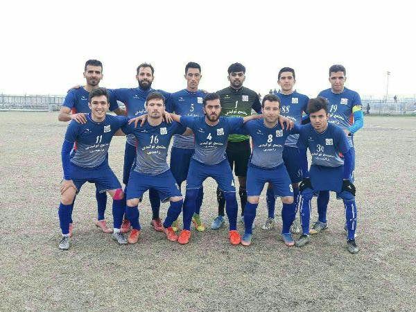 دارایی گز قهرمان نیم فصل نخست لیگ دسته سوم فوتبال کشور شد