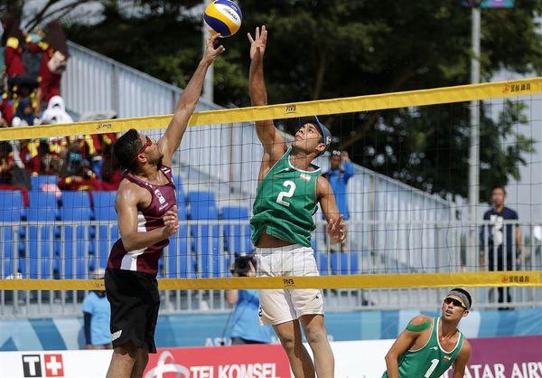 مسابقات تور جهانی تک ستاره والیبال ساحلی در استان گلستان برگزار میشود