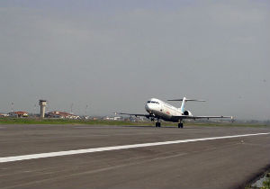 برنامه پرواز فرودگاه بین المللی گرگان