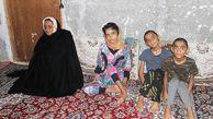 برشی از رنج مادر نابینا با سه فرزند معلول در گلستان