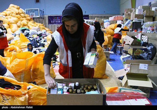 ۱۲ کانتینر کمکهای مردم استان گلستان به مناطق زلزلهزده ارسال شد