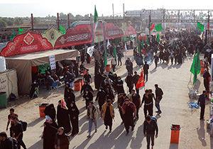 فعالیت ۱۰ موکب استان گلستان در اربعین حسینی