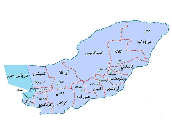 از برگزاری پرشور انتخابات تا هشدار فرماندار گرگان به شهروندان