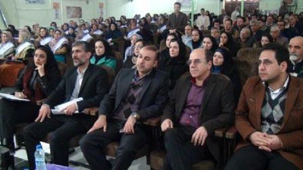 برگزاری پویش ملی مبارزه با سرطان در مرکز بهداشت ترکمن+تصاویر
