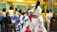 اعزام بانوان گلستانی به مسابقات کاراته سنتی کشور