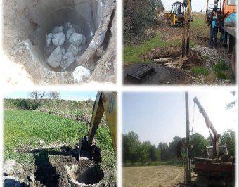 انسداد 96 چاه غیر مجاز در گلستان در سه ماه ابتدای سال 97