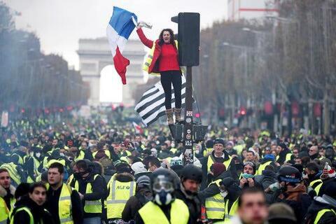 فیلم/ بازگشت شنبه اعتراض به فرانسه