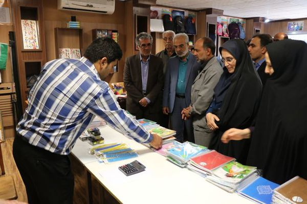 افتتاح نمایشگاه نوشت افزار ایرانی در گرگان