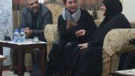خواننده زن سرشناس لبنانی به منزل عماد مغنیه رفت