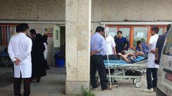 """سریال درگیری در اورژانس بیمارستان های کشور این بار در """"علی آباد کتول"""" اکران شد!+تصاویر"""