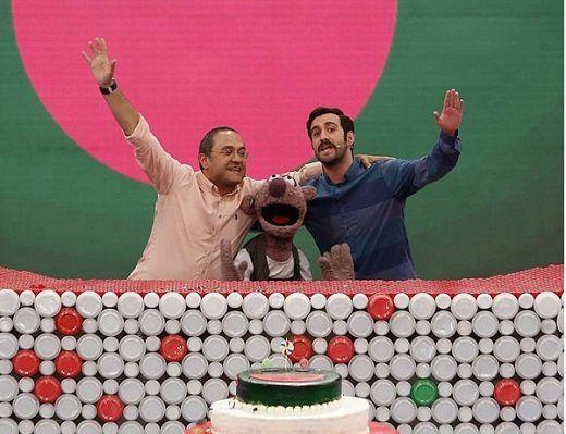 دانلود کلیپ جشن تولد خندوانه 16 خرداد 95