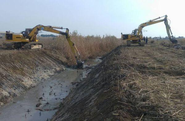 ۲ هزار هکتار اراضی سد بوستان گنبدکاووس زهکشی میشود
