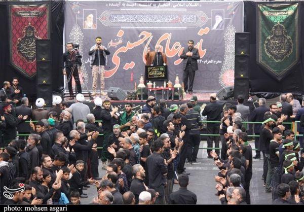 شور حسینی در تاسوعای حسینی در گرگان به روایت تصویر