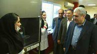 بازدید معاون علم و فناوری رئیس جمهور از شرکت داروسازی نیاک در آق قلا