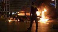 فیلم/ فریاد معترضان آفریقایی در لانه عنکبوت