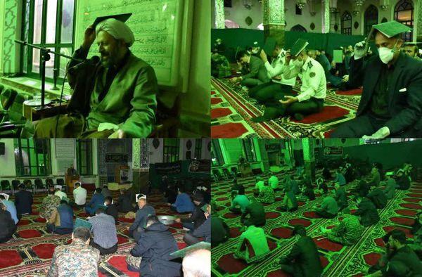 گزارش تصویری اولین آیین شب قدر سال 99 در استان گلستان