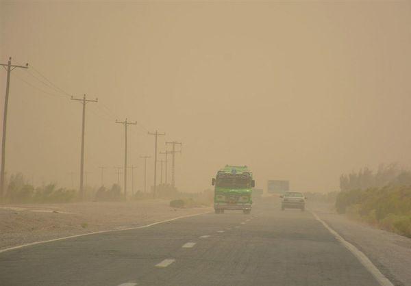 منشا بروز گرد و غبار گلستان کشور ترکمنستان است