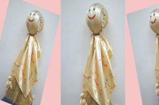 اهدای عروسک بومی و محلی «آفتو» به مهمانان نوروزی استان گلستان