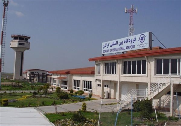 پروازهای فرودگاههای استان گلستان ۶۴ درصد افزایش یافت