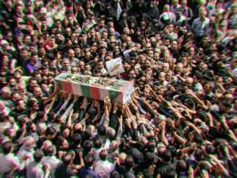 دانلود/مراسم باشکوه تشییع پیکر مطهر شهید غواص در کرج