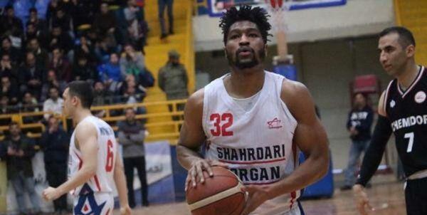 بسکتبالیست آمریکایی با شهرداری گرگان تمدید کرد